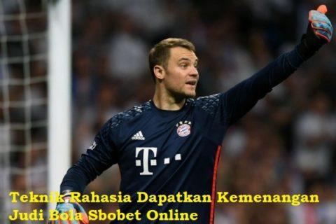 Teknik Rahasia Dapatkan Kemenangan Judi Bola Sbobet Online